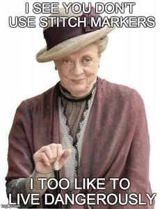 stitch markers meme