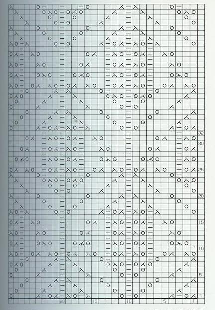 lace knitting stitches japanese chart