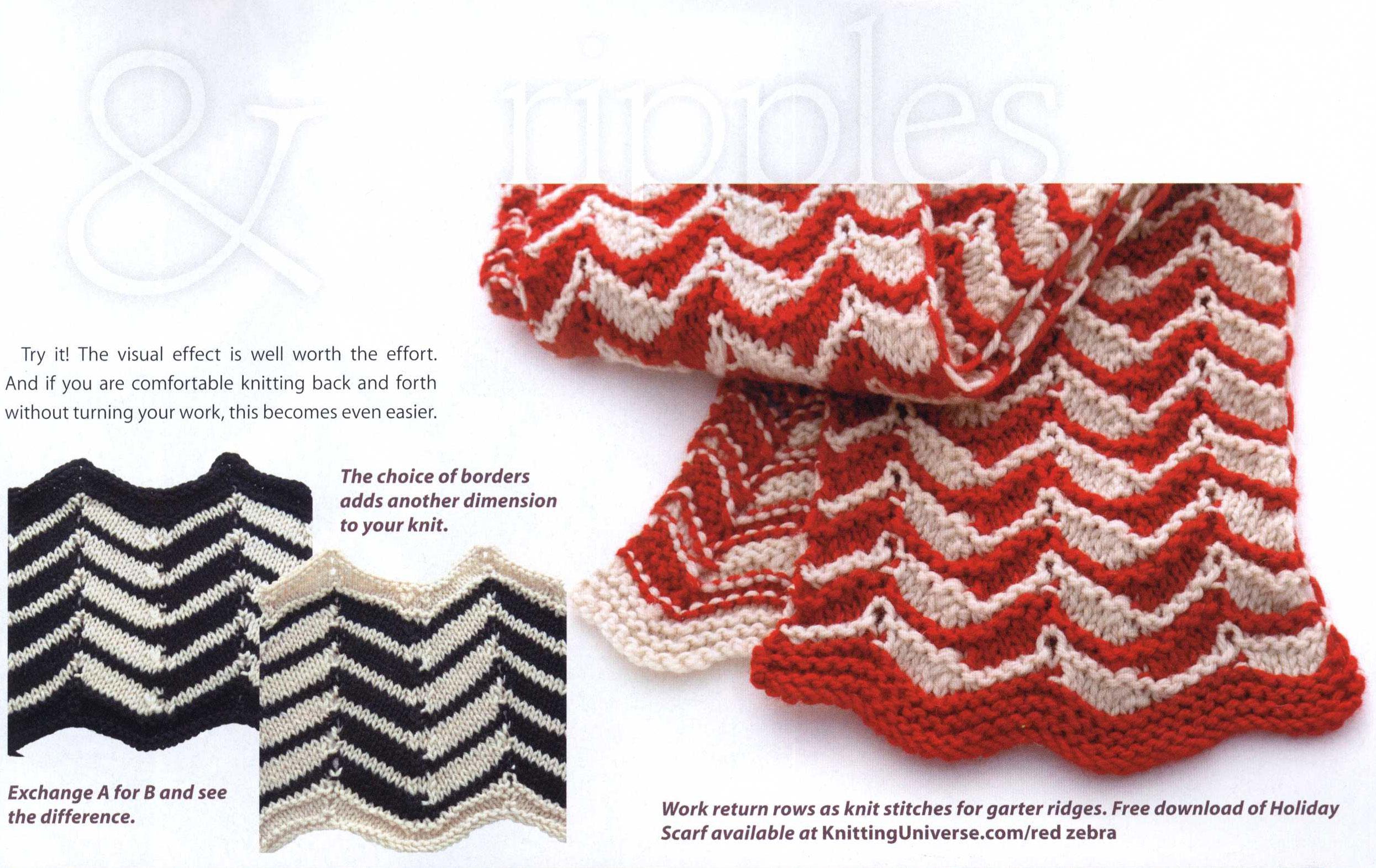 Short Rows And Ripples Three Tops Knitting Patterns Knitting Free