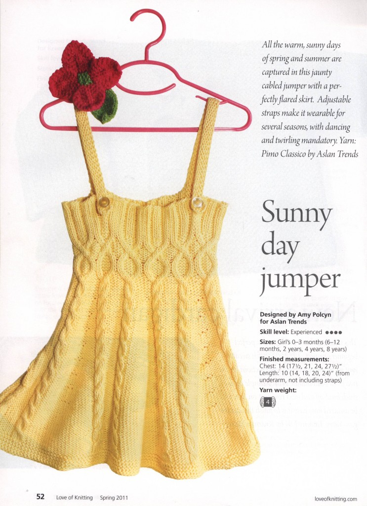 sunny day jumper