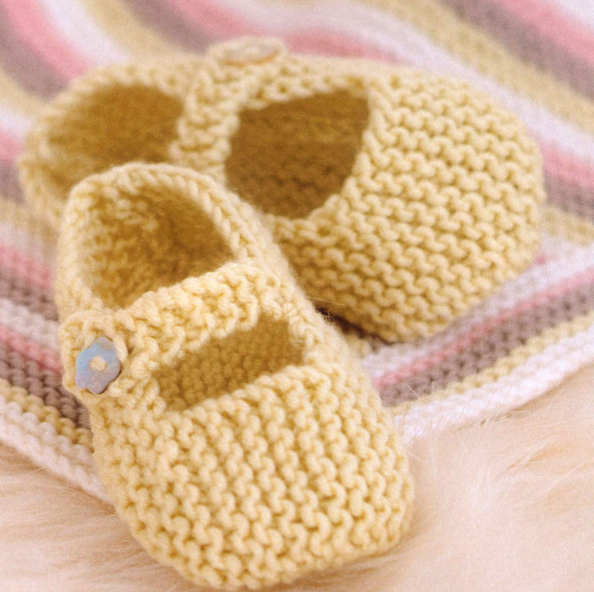 Baby Booties and Shoes Archives ~ Knitting Free