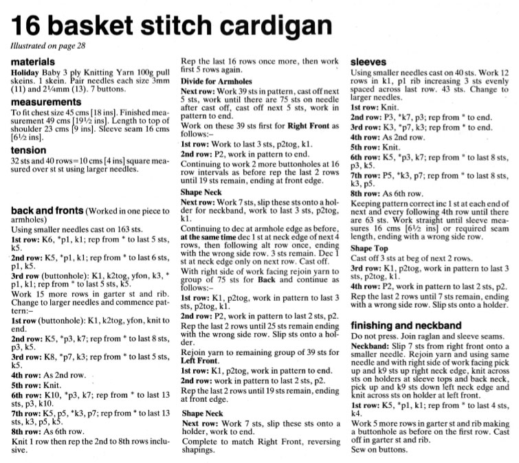 Basket-Stitch-Cardigan-Knitting-Pattern