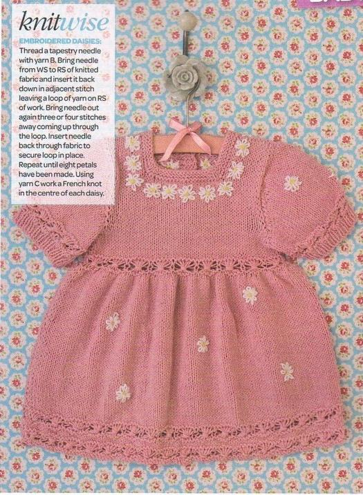 embroidered-daisy-knit-dress-for-baby