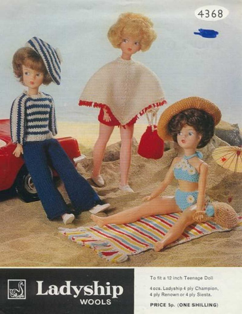 Knitting Patterns For Teenage Dolls : 12