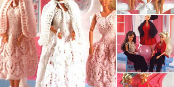 Wendy or Barbie Knitted Outfits Patterns