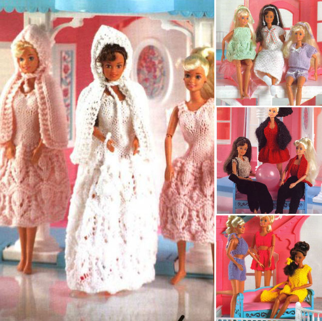 Doll\'s Clothes Free Knitting Patterns Archives ~ Knitting Free