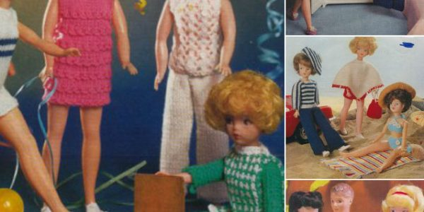 vintage12 inch doll patterns knitting