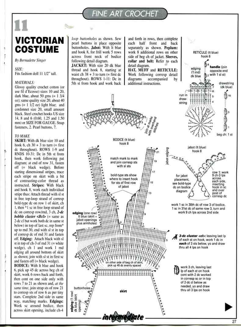 Magic Crochet August 2004027 ~ Knitting Free
