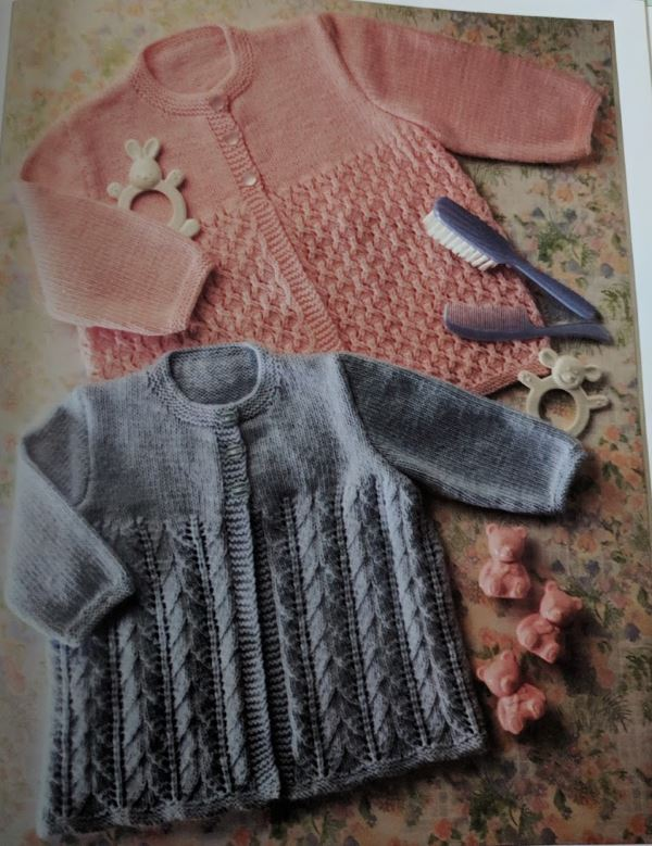 Baby cardigan knitting patterns with fancy stitch