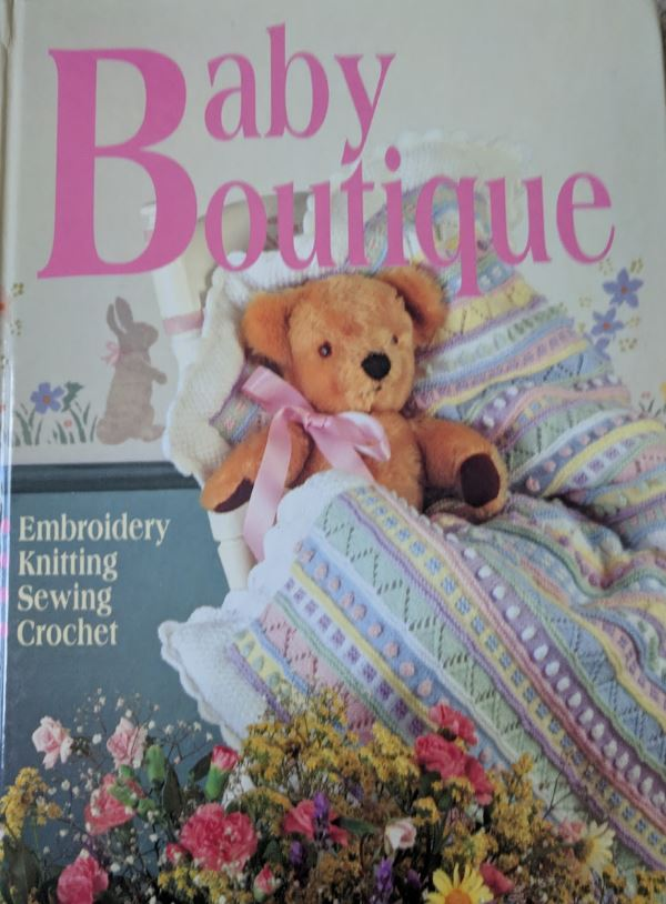Thrift store knitting book find! Baby Boutique knitting book