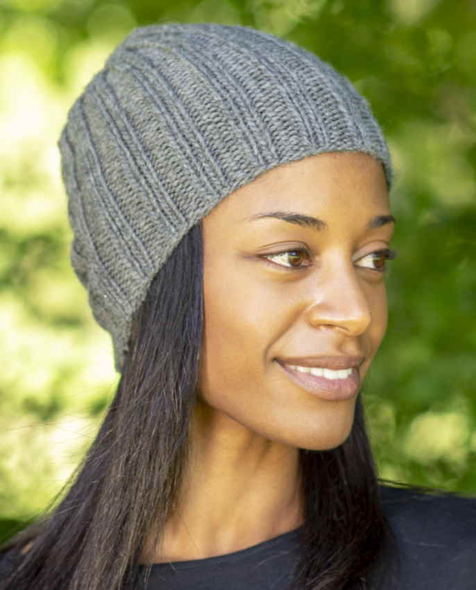Free easy hat knitting pattern